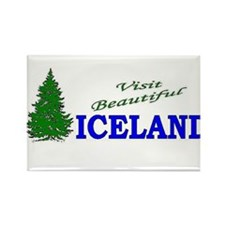 Unique Greenland travel Rectangle Magnet