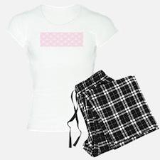 Pretty Pink Damask Pattern Pajamas