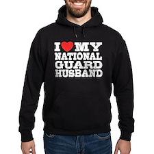 I Love My National Guard Husband Hoodie
