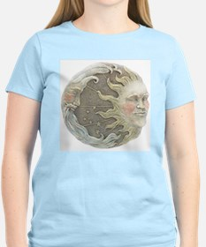 Unique Moon and sun T-Shirt