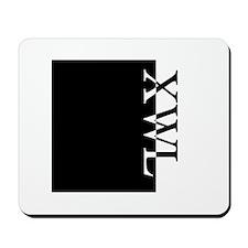 XWL Typography Mousepad