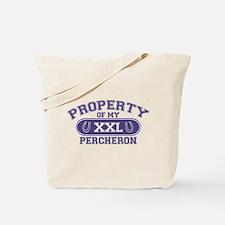 Percheron PROPERTY Tote Bag