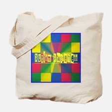 Autism Awareness Blocks Tote Bag