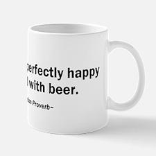 Mouth Happy Man Beer Mug