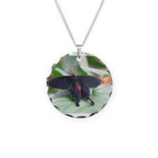 The Black Butterfly Necklace