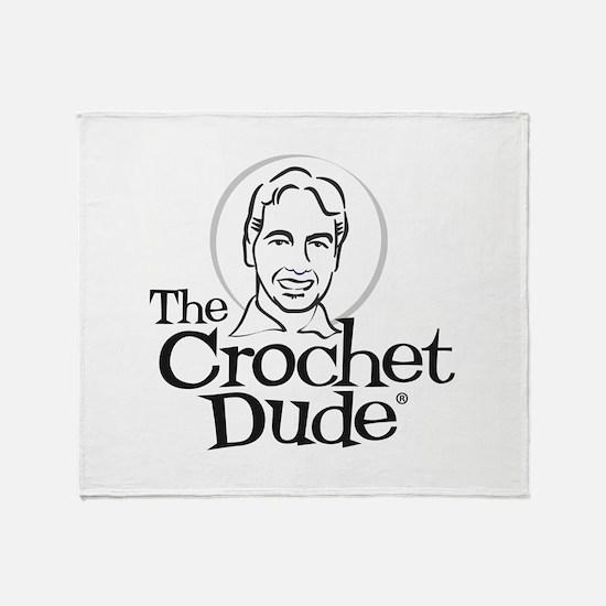 The Crochet Dude Logo Swag Throw Blanket