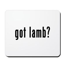 GOT LAMB Mousepad