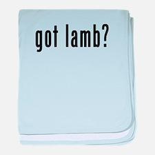 GOT LAMB baby blanket