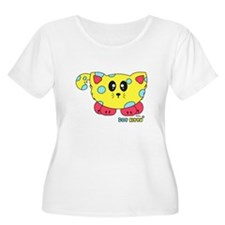 Dot Kitty Pudgie Pet T-Shirt