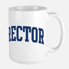 RECTOR design (blue) Mugs
