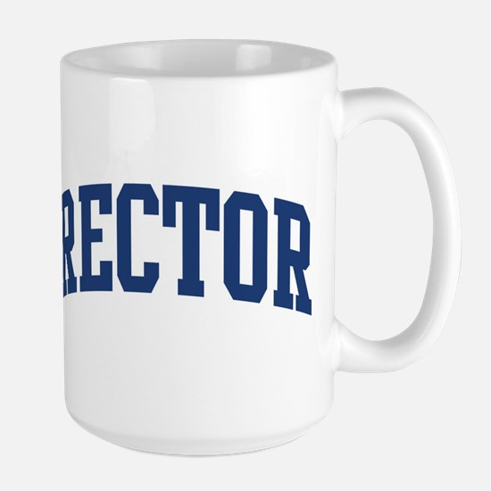 RECTOR design (blue) Mugs