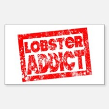 Lobster ADDICT Sticker (Rectangle)