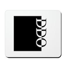 DDO Typography Mousepad