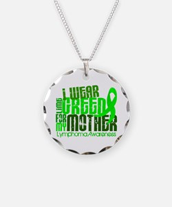 I Wear Lime 6.4 Lymphoma Necklace