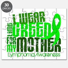 I Wear Lime 6.4 Lymphoma Puzzle