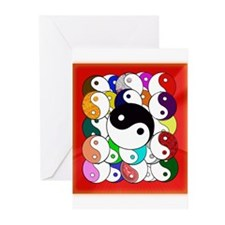 Yin Yangs Greeting Cards (Pk of 10)