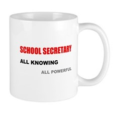 School Sec. All Knowing All P Mug