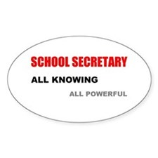 School Sec. All Knowing All P Decal