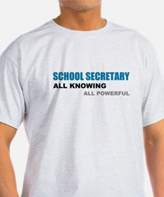 School Sec. All Knowing All P T-Shirt