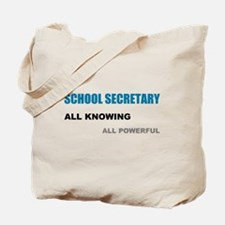 School Sec. All Knowing All P Tote Bag