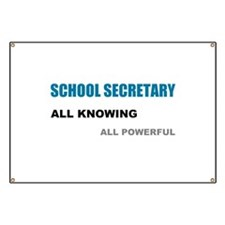 School Sec. All Knowing All P Banner