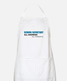 School Sec. All Knowing All P Apron