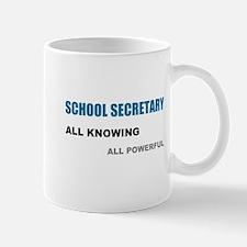 School Sec. All Knowing All P Mug