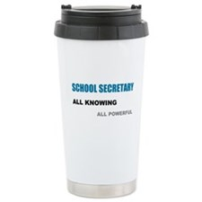 School Sec. All Knowing All P Travel Mug
