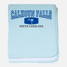 Calhoun Falls South Carolina baby blanket