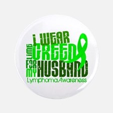 "I Wear Lime 6.4 Lymphoma 3.5"" Button (100 pack)"