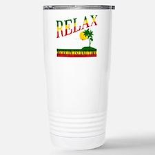 Relax Stainless Steel Travel Mug