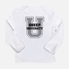 Sheep UNIVERSITY Long Sleeve Infant T-Shirt