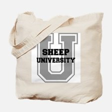 Sheep UNIVERSITY Tote Bag