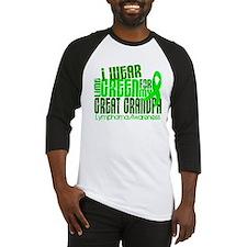I Wear Lime 6.4 Lymphoma Baseball Jersey