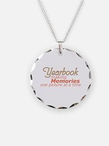 Yearbook Making Memories Necklace