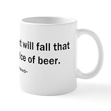 Government Fall Raises Price Beer Mug