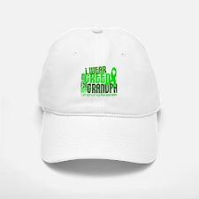 I Wear Lime 6.4 Lymphoma Baseball Baseball Cap