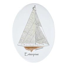 Enterprise Ornament (Oval)