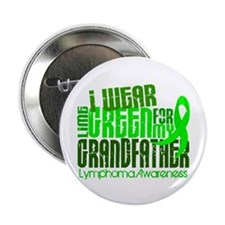 "I Wear Lime 6.4 Lymphoma 2.25"" Button"
