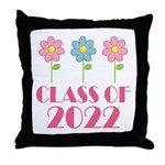 2022 School Class Throw Pillow