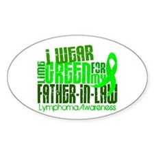 I Wear Lime 6.4 Lymphoma Decal