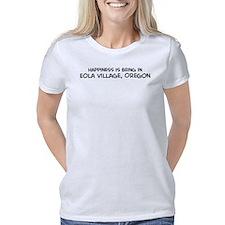 Spitfire Women's Plus Size V-Neck Dark T-Shirt