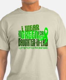I Wear Lime 6.4 Lymphoma T-Shirt