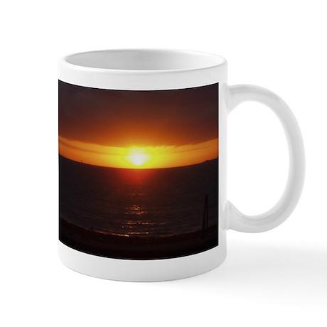 Sunrise over Boston Harbor Islands Mug