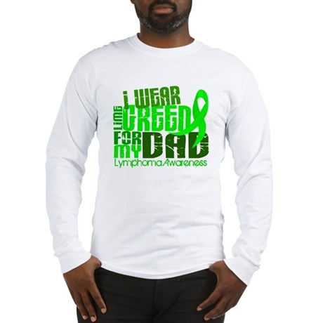 I Wear Lime 6.4 Lymphoma Long Sleeve T-Shirt