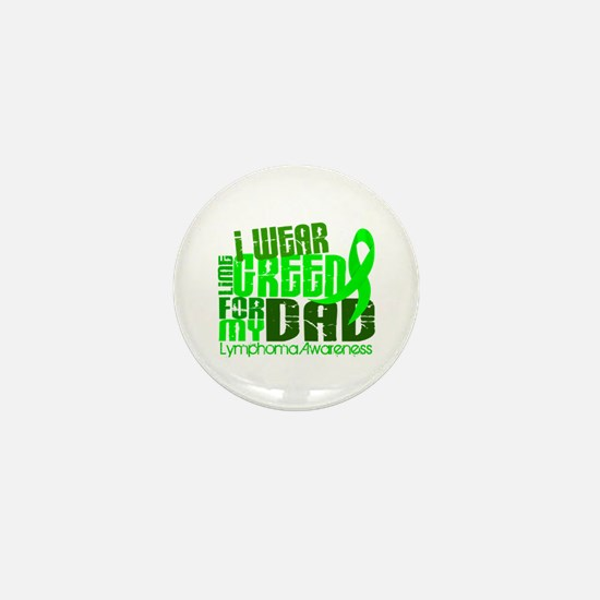 I Wear Lime 6.4 Lymphoma Mini Button