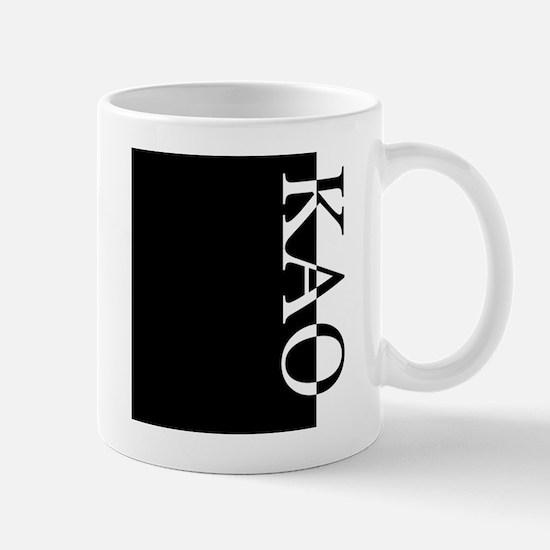 KAO Typography Mug