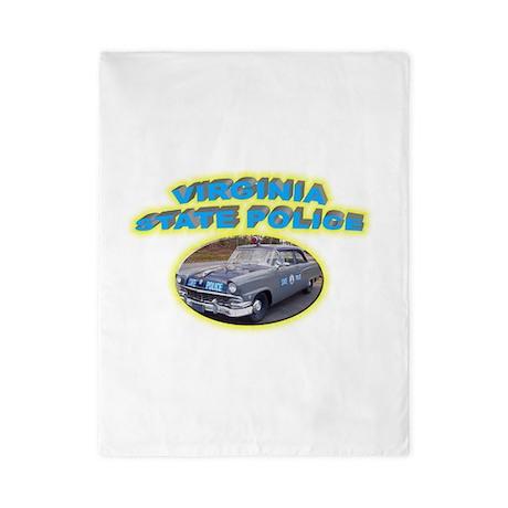 Virginia State Police Twin Duvet