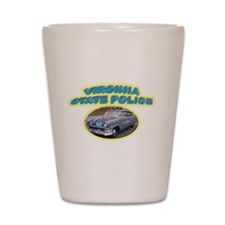 Virginia State Police Shot Glass