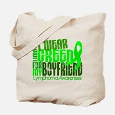 I Wear Lime 6.4 Lymphoma Tote Bag